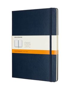 MOLESKINE RULED NOTEBOOK XL BLUE