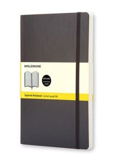 MOLESKINE SOFTCOVER NOTEBOOK GRID LARGE