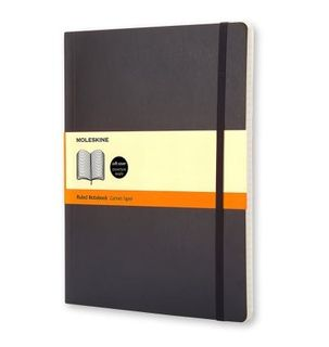 MOLESKINE SOFTCOVER NOTEBOOK RULED XL