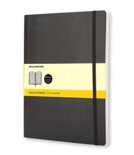MOLESKINE SOFTCOVER NOTEBOOK GRID XL
