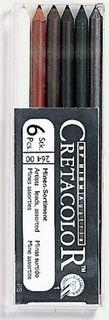 CRETACOLOR ARTIST LEADS 5.6 ASSORTED BOX6 SET