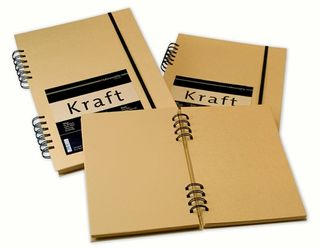 HAHN KRAFT 120G SKETCH BOOK SPIRAL A4