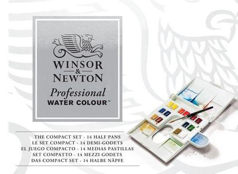 W&N PROFESSIONAL WATERCOLOUR COMPACT SET
