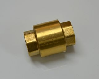 CHECK VALVE 'EAGLE' 15mm BRASS