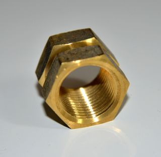 "BRASS 1/2"" BSPF HEX SOCKET [15mm]"