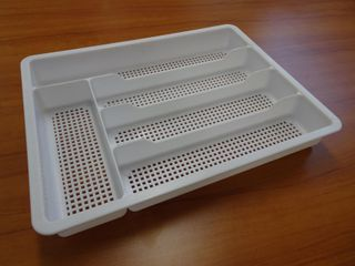 PLASTIC COMPACT CUTLERY TRAY