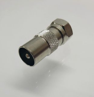 F-TYPE MALE TO PAL MALE ADAPTOR