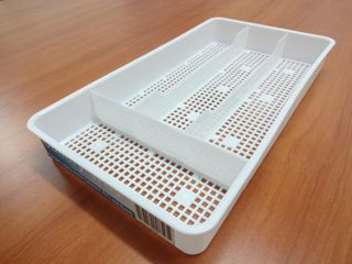 PLASTIC COMPACT CUTLERY TRAY SMALL