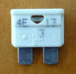 FUSE - BLADE - 25 AMP - WHITE