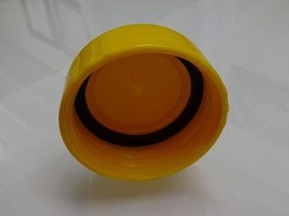 WASTE CAP t/s THETFORD - YELLOW