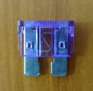FUSE - BLADE - 3 AMP - PURPLE