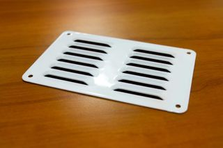 VENT - 100x148mm x 1.5 - WHITE ROUND CNR