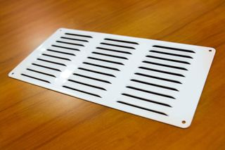 VENT - 150x300mm x 1.5 - WHITE ROUND CNR
