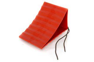 WHEEL CHOCK VALTERRA RED W/- CORD