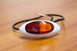 LED RED AMBER CLEARANCE LUCDITY WH. BASE
