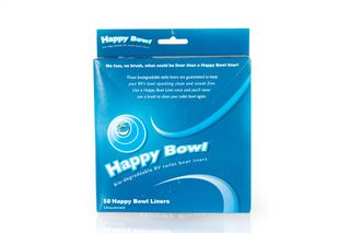 HAPPY BOWL TOILET LINERS PK50