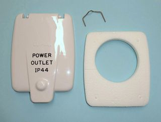 CLIPSAL 10DWP OUTLET FLAP/SPRING/SEAL
