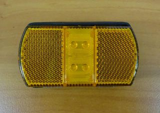 LIGHT CLEARANCE MARKER AMBER LED SM8ALED
