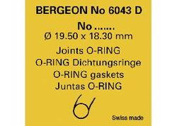 PKT (2PC) B6043 THIN O-RINGS