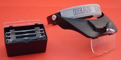 HEADLOUPE WITH MULTI LENS MAGNIFIER