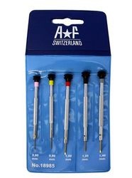 F18985 SET OF 5 NON-MAGNETIC SCREWDRIVER