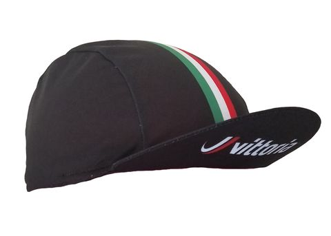 VITTORIA CYCLING CAP - BLACK
