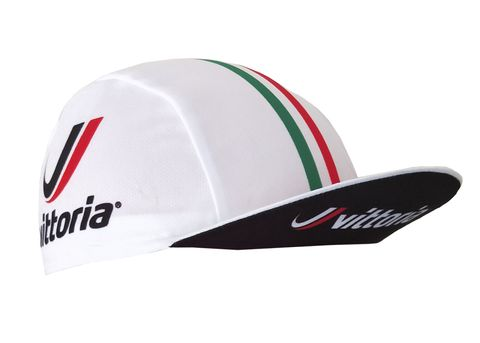 VITTORIA CYCLING CAP - WHITE