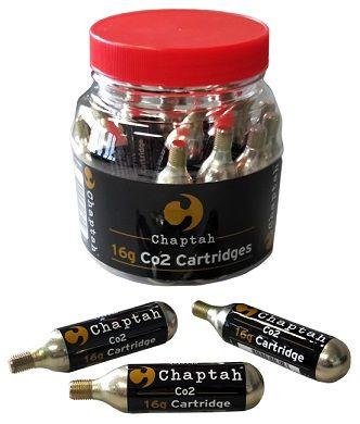 Chaptah Co2 Jar 20x16g Thread Cartridge