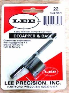 Decapper & Base - 22 Cal