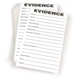 Evidence Labels 3.5x6.5