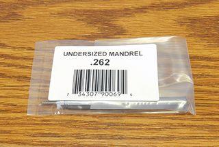 Undersize Mandrel .262