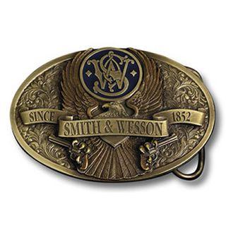 S&W Belt Buckle - Brass Eagle