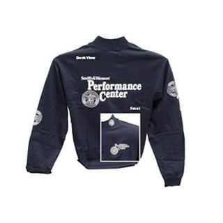 S&W Navy Long Sleeve Performance Ctr - L
