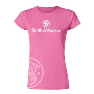 S&W Womens Azalea Logo Tee - Med