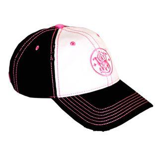 S&W Womens Black & White Logo Cap/Hat