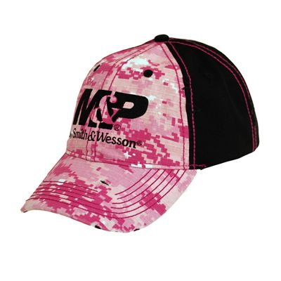 M&P Womens Pink Digital Camo Cap/Hat