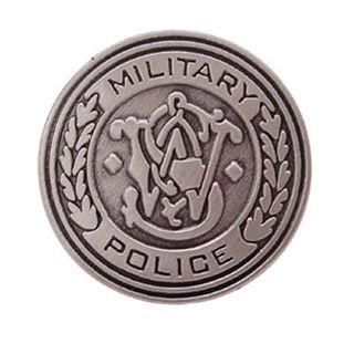 M&P Round Logo Tie Tac