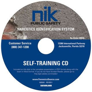 NIK Self Training Cd - Narcotic Field Te