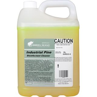 GREEN RHINO® INDUSTRIAL PINE DISINFECTANT CLEANER