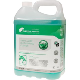GREEN RHINO® ENVIRO SPRAY & WIPE MULTIPURPOSE CLEANER G1