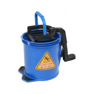 EDCO NYLON WRINGER BUCKET BLUE 16L