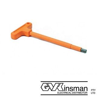 ALLEN KEY T TYPE INSULATED HANDLE 5MM - 140MM LONG