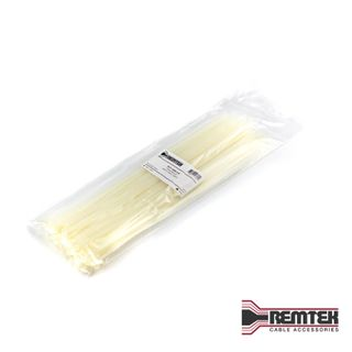 CABLE TIE 369MM L X 4.8MM W NATURAL BAG OF 100