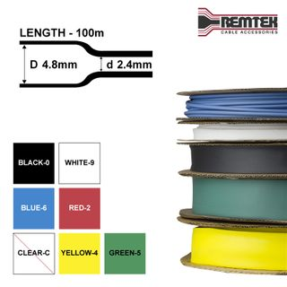 THIN WALL 4.8-2.4MM ID SPOOLS