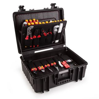 80PCS WIHA ELECTRICIANS TOOLKIT IN HARDCASE