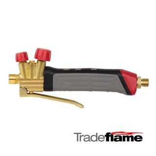 BLOWTORCH HANDLE WITH PILOT VALVE