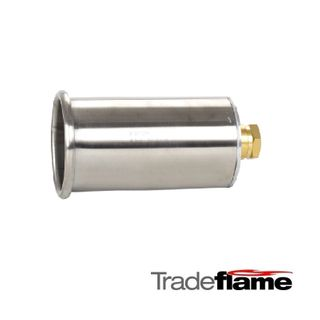 60MM WIND PROOF BURNER STAINLESS STEEL