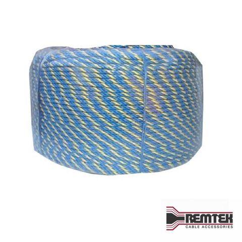 TELSTRA HAULING ROPE BLUE/YELLOW (400M ROLL) PARRAMATTA