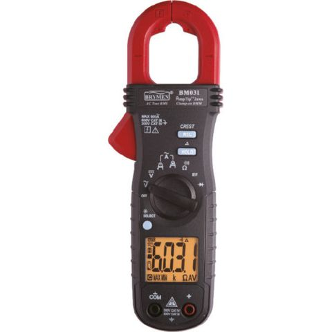 CLAMP METER 600A AC WITH BEEPLIT