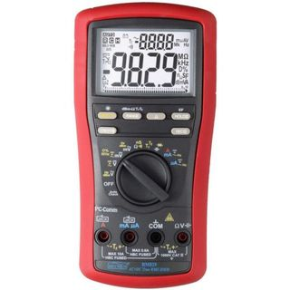 DUAL DISPLAY AC/DC 1000V MULTIMETER W. 2 CHANNEL TEMP